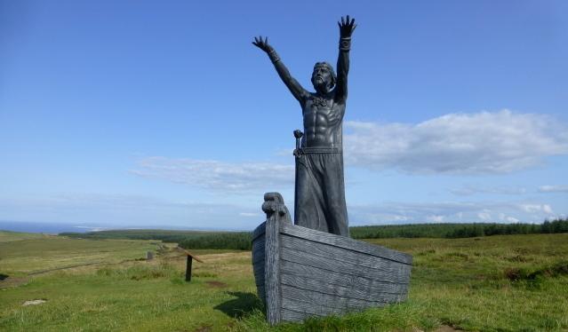 Kenneth Allen/Manannán mac Lir sculpture, Gortmore